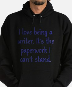 Being a Writer Hoodie (dark)