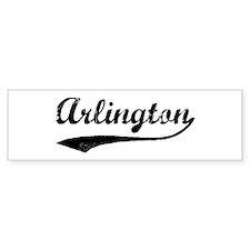 Vintage Arlington Bumper Bumper Sticker