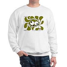 Funky Sun! In Olive Sweatshirt