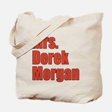 Mrs. Derek Morgan Criminal Minds Tote Bag