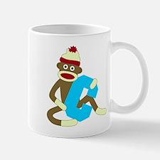 Sock Monkey Monogram Boy C Coffee Mug