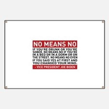 No Means No Banner