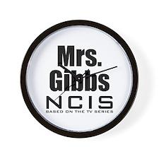 Mrs. Gibbs NCIS Wall Clock