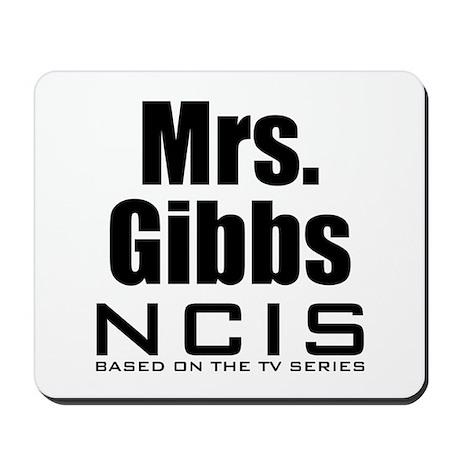 Mrs. Gibbs NCIS Mousepad