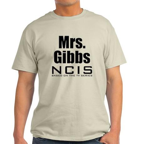 Mrs. Gibbs NCIS Light T-Shirt