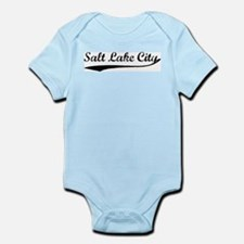 Vintage Salt Lake City Infant Creeper