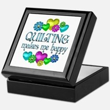 Quilting Happiness Keepsake Box