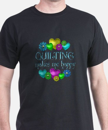 Quilting Happiness T-Shirt
