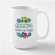 Quilting Happiness Ceramic Mugs