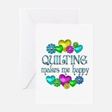 Quilting Happiness Greeting Cards (Pk of 10)