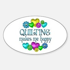 Quilting Happiness Bumper Stickers