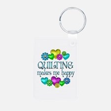 Quilting Happiness Keychains