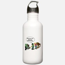 Skateboarding Horse Water Bottle