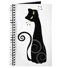 Whimsical Cat Journal