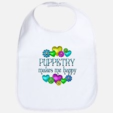 Puppetry Happiness Bib