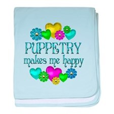 Puppetry Happiness baby blanket