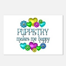 Puppetry Happiness Postcards (Package of 8)