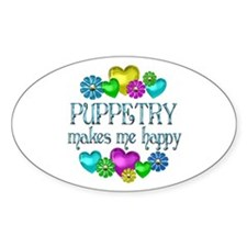 Puppetry Happiness Decal