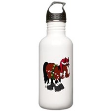 Don't Ask Christmas Horse Water Bottle