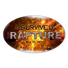 """""""I Survived The Rapture"""" Decal"""