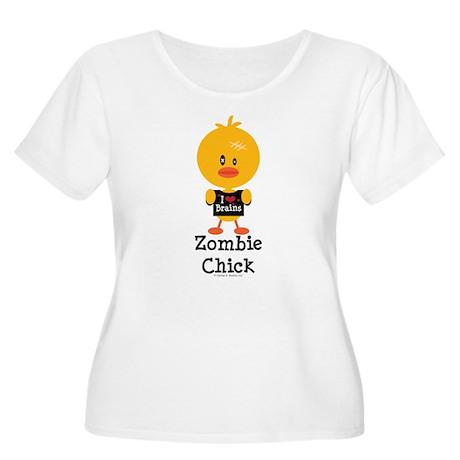 Zombie Chick Women's Plus Size Scoop Neck T-Shirt