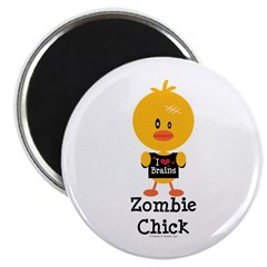 Zombie Chick Magnet