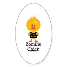 Zombie Chick Decal