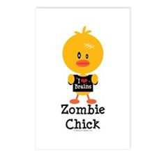 Zombie Chick Postcards (Package of 8)