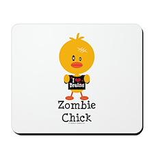 Zombie Chick Mousepad