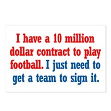 Football Contract Postcards (Package of 8)
