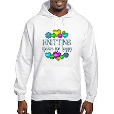 Knitting Happiness Hoodie