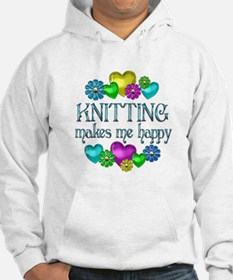 Knitting Happiness Jumper Hoodie
