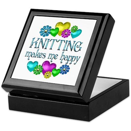 Knitting Happiness Keepsake Box