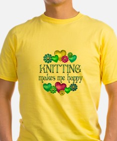 Knitting Happiness T