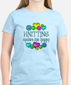 Knitting Happiness T-Shirt