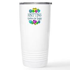 Knitting Happiness Travel Mug