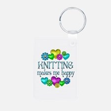 Knitting Happiness Keychains