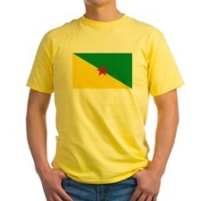 French Guianese Flag T