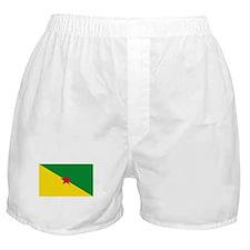 French Guianese Flag Boxer Shorts