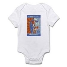 Obey the Cow Infant Bodysuit