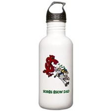Horse Show Dad Water Bottle