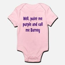 Call me Barney Infant Bodysuit