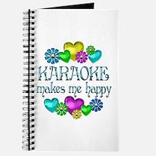 Karaoke Happiness Journal