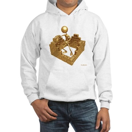 BuildingWalls01 Hooded Sweatshirt
