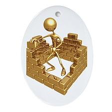 BuildingWalls01 Oval Ornament