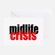 Midlife Crisis Greeting Cards (Pk of 10)