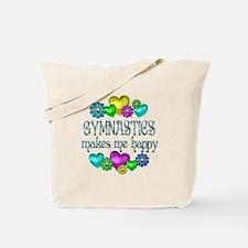 Gymnastics Happiness Tote Bag