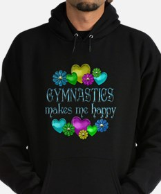 Gymnastics Happiness Hoodie (dark)