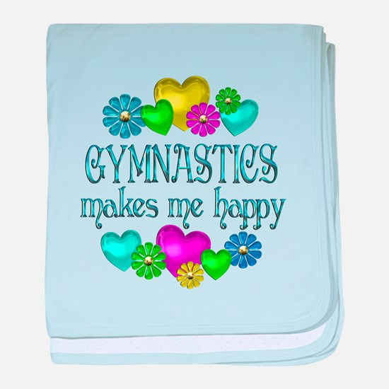 Gymnastics Happiness baby blanket