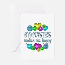 Gymnastics Happiness Greeting Cards (Pk of 10)